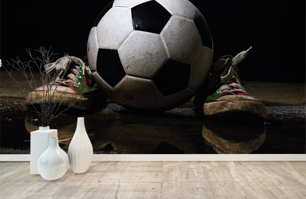 Football - Football entre deux baskets - Chambre des enfants 1