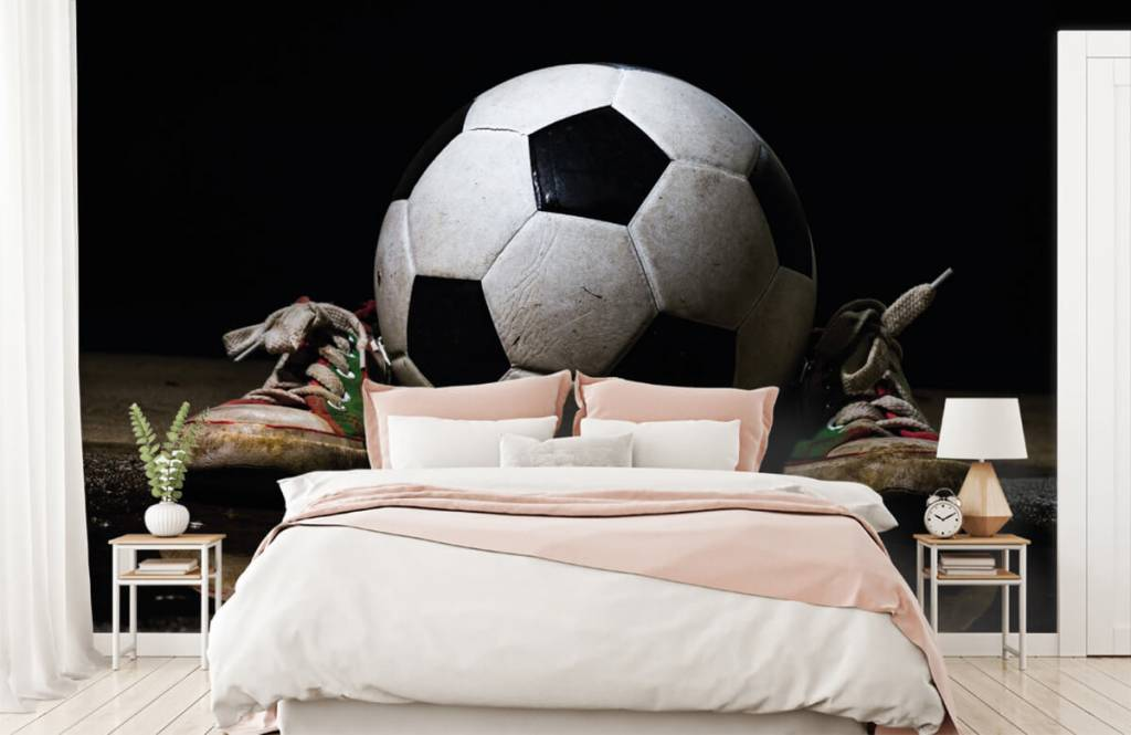 Football - Football entre deux baskets - Chambre des enfants 2