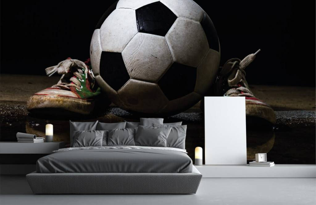 Football - Football entre deux baskets - Chambre des enfants 3