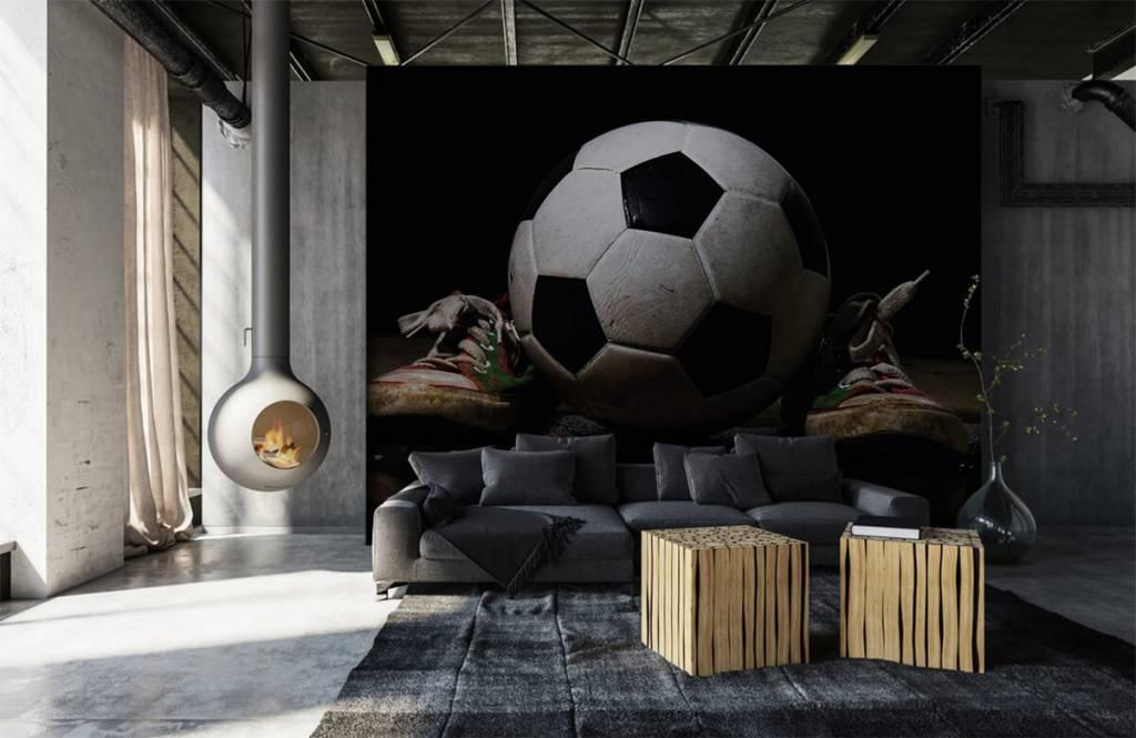 Football - Football entre deux baskets - Chambre des enfants 5