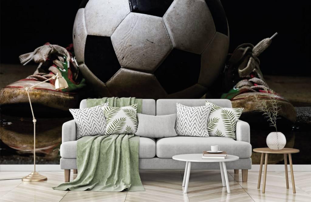Football - Football entre deux baskets - Chambre des enfants 6