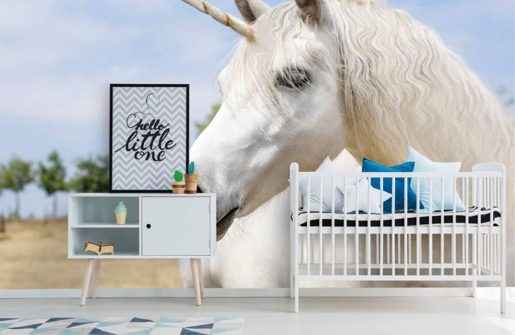 Horses - Licorne blanche - Chambre des enfants 6