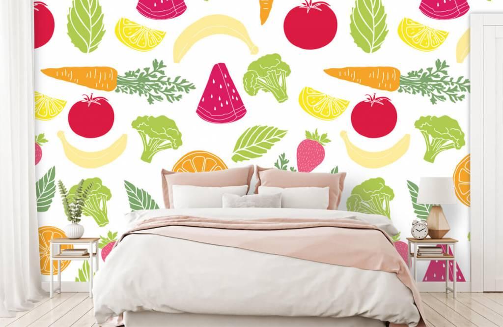 Other - Getekend groente en fruit - Cuisine 2