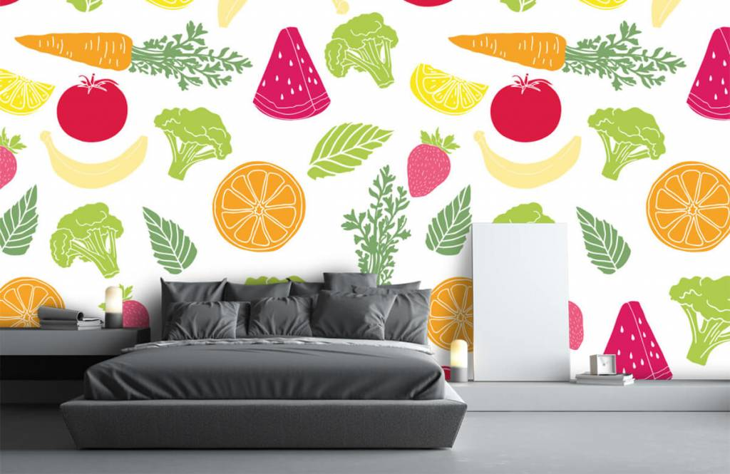 Other - Getekend groente en fruit - Cuisine 3