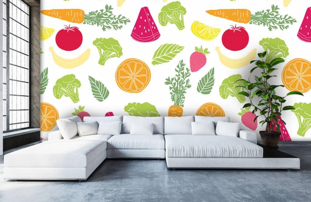 Other - Getekend groente en fruit - Cuisine 4