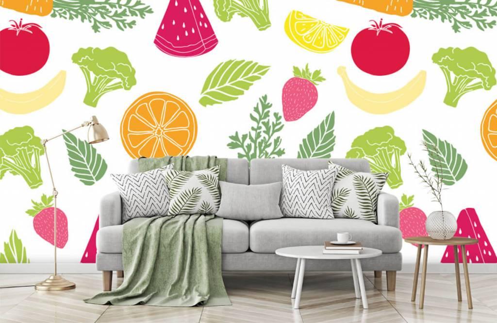 Other - Getekend groente en fruit - Cuisine 5