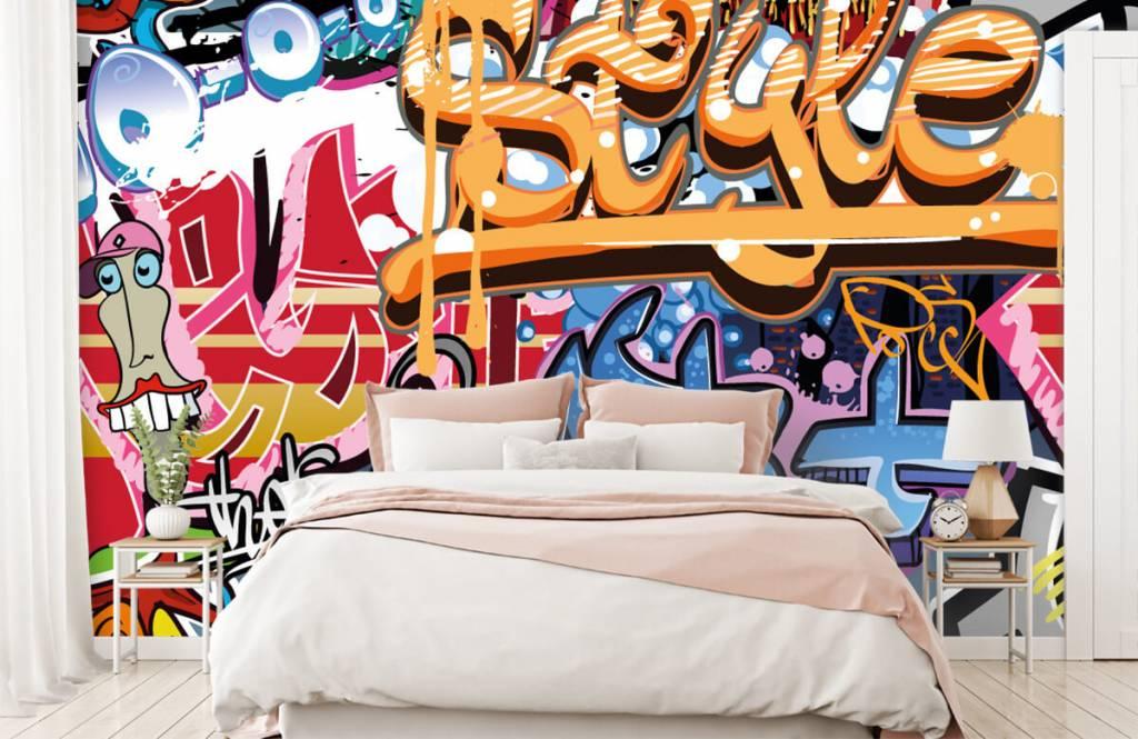 Graffiti - Texte graffiti - Chambre d'adolescent 2