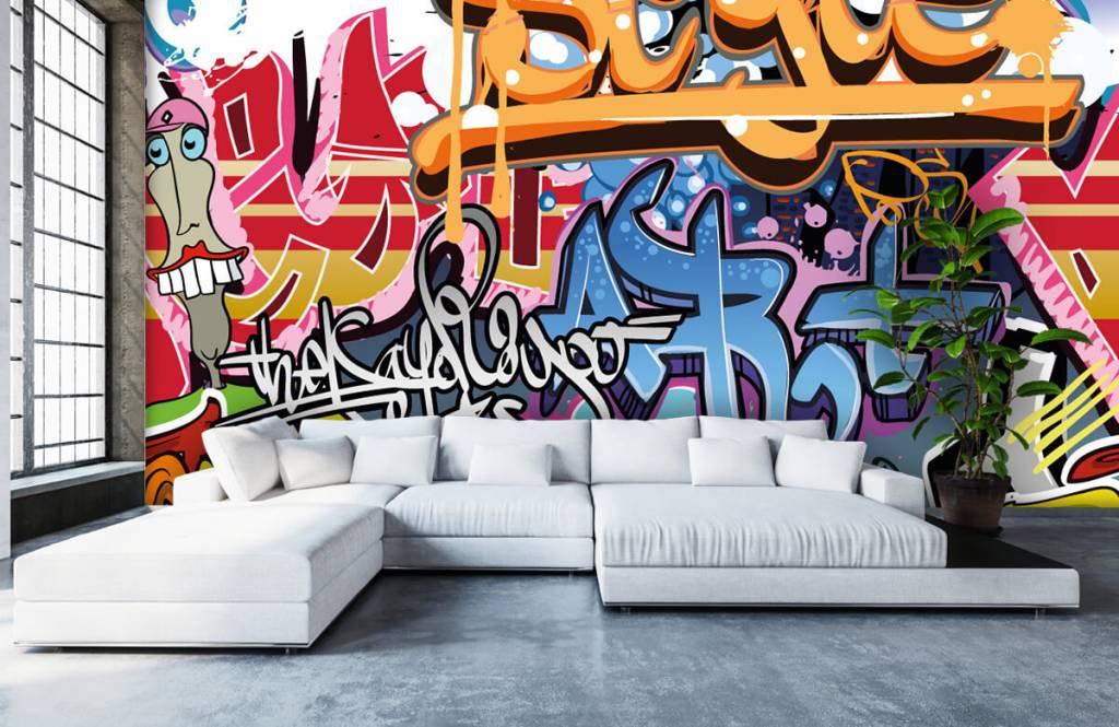Graffiti - Texte graffiti - Chambre d'adolescent 5