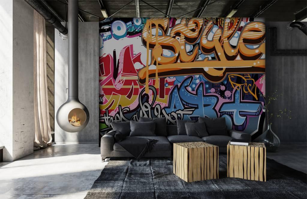 Graffiti - Texte graffiti - Chambre d'adolescent 6