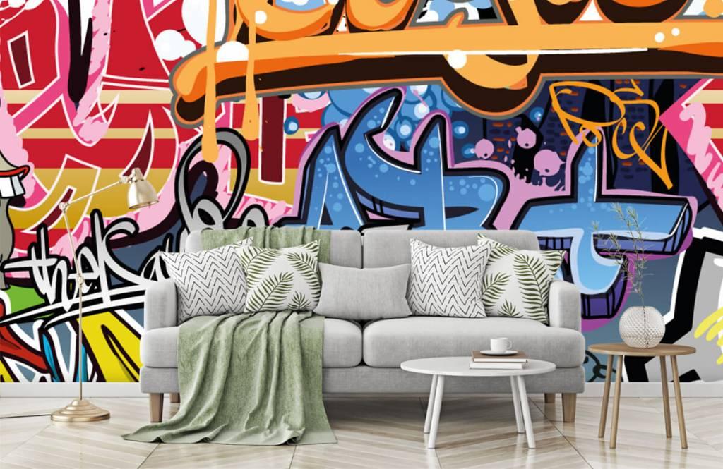 Graffiti - Texte graffiti - Chambre d'adolescent 7