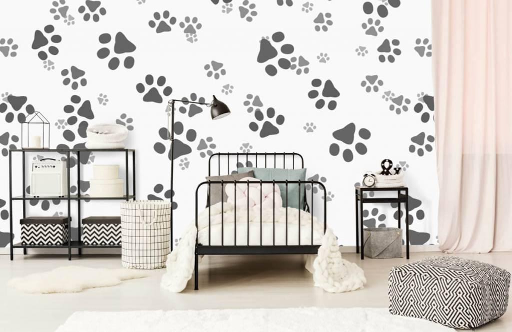 Papier peint enfants - Jambes de chien - Chambre des enfants 2