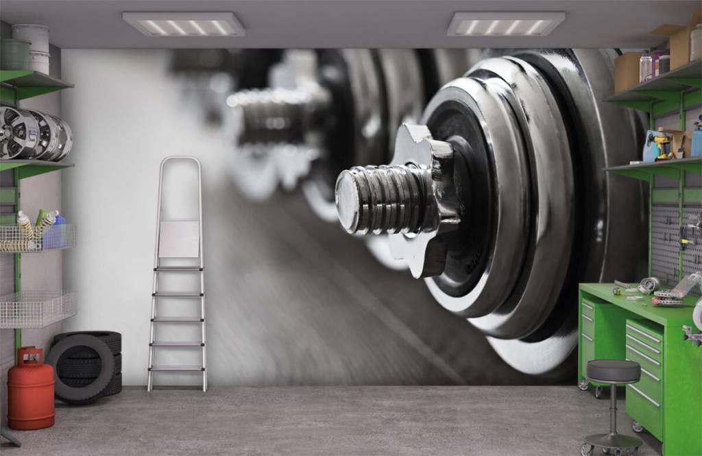 Fitness - Haltères classiques - Chambre d'hobby 3
