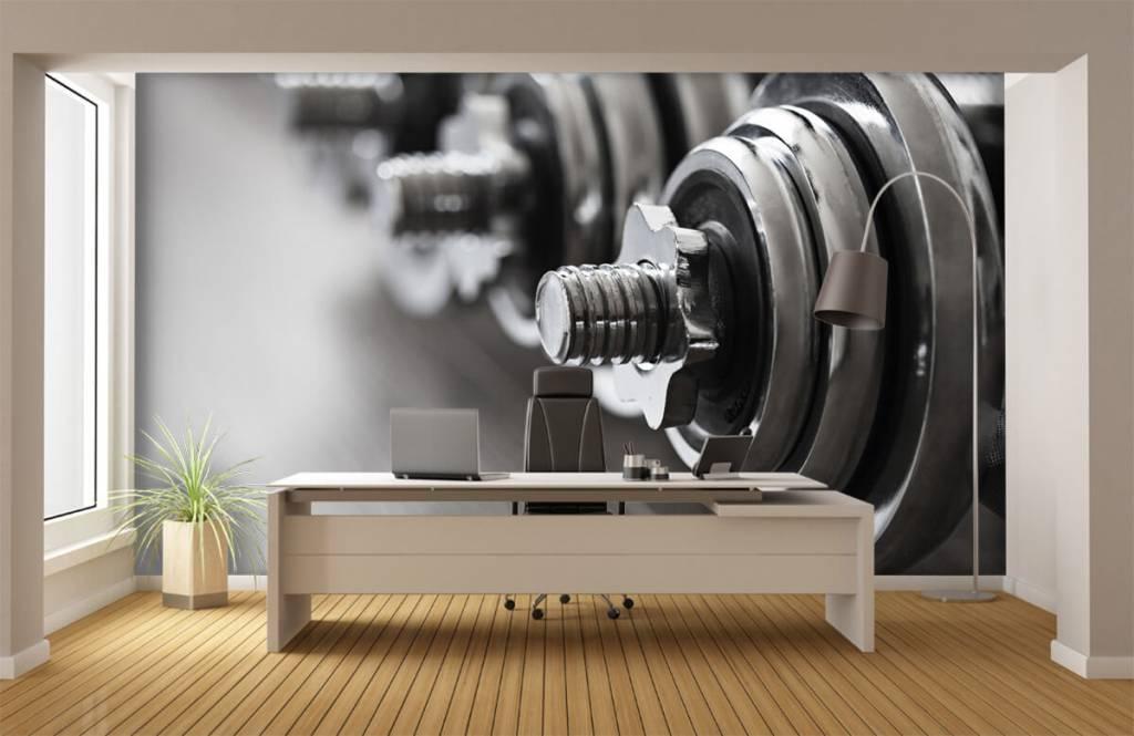 Fitness - Haltères classiques - Chambre d'hobby 5