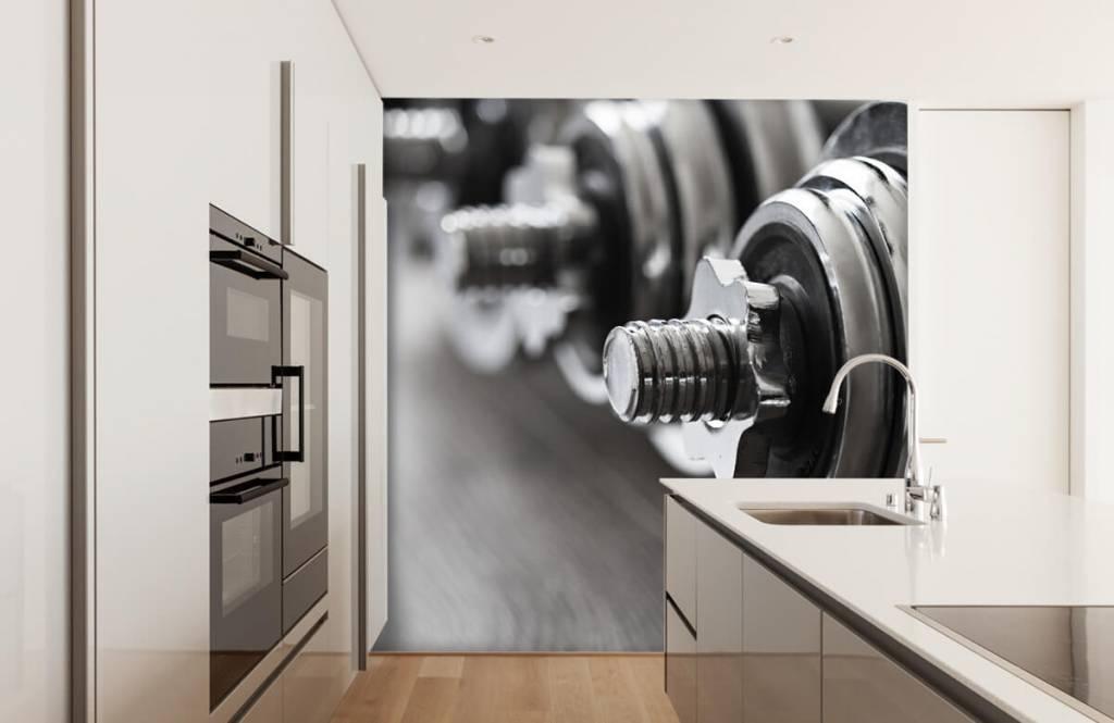 Fitness - Haltères classiques - Chambre d'hobby 6