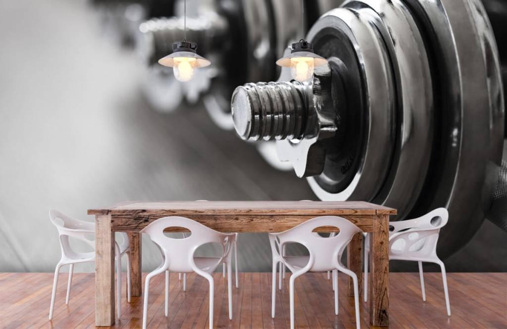 Fitness - Haltères classiques - Chambre d'hobby 8