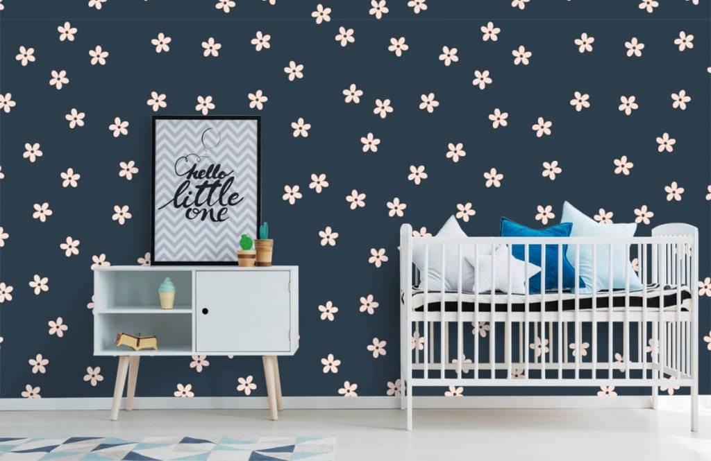 Patterns for Kidsroom - Petites fleurs roses - Chambre des enfants 1