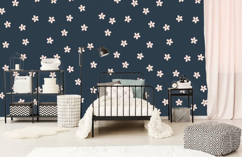 Patterns for Kidsroom - Petites fleurs roses - Chambre des enfants 2