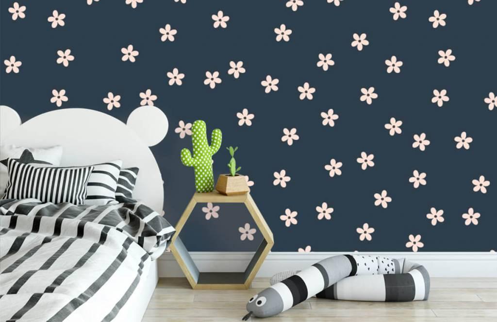 Patterns for Kidsroom - Petites fleurs roses - Chambre des enfants 3
