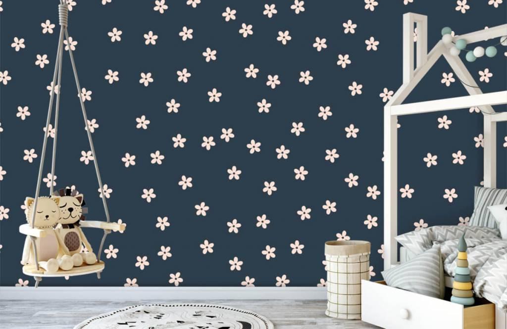 Patterns for Kidsroom - Petites fleurs roses - Chambre des enfants 4
