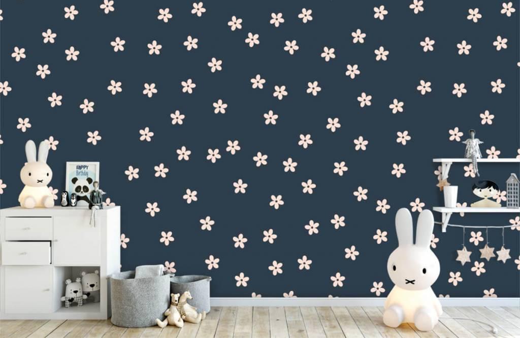 Patterns for Kidsroom - Petites fleurs roses - Chambre des enfants 5