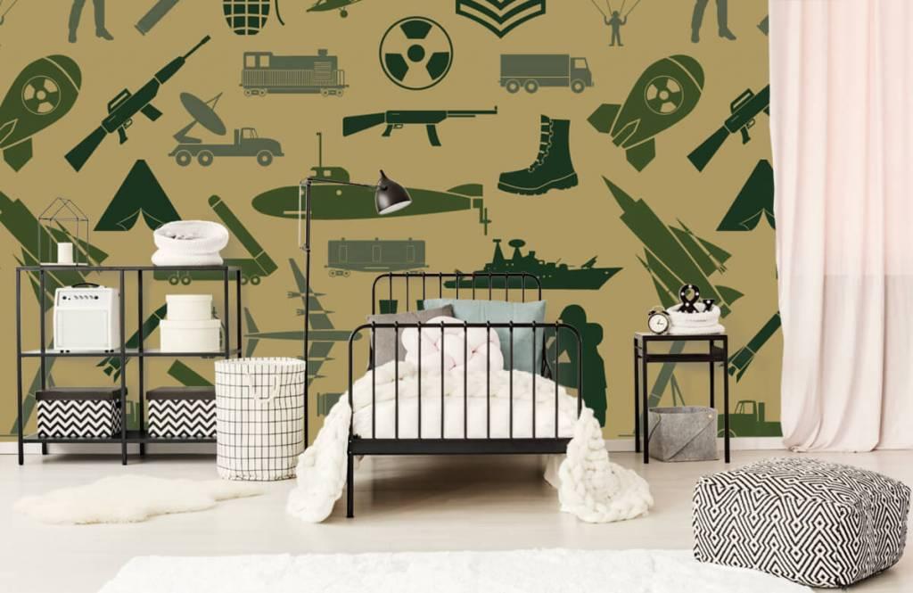 Other - Illustrations militaires - Chambre des enfants 1