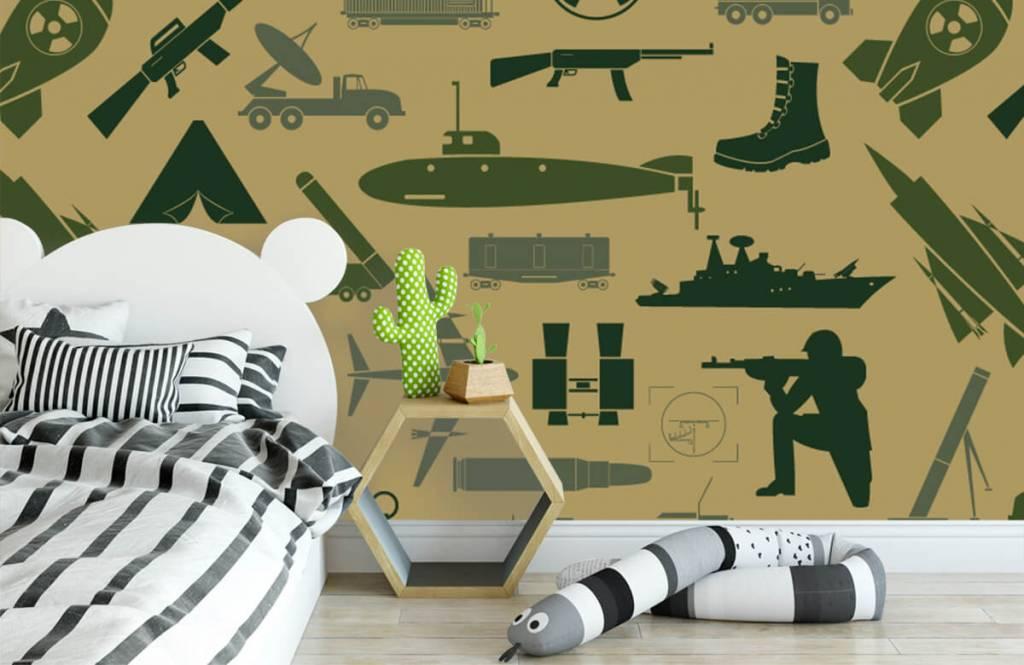 Other - Illustrations militaires - Chambre des enfants 2