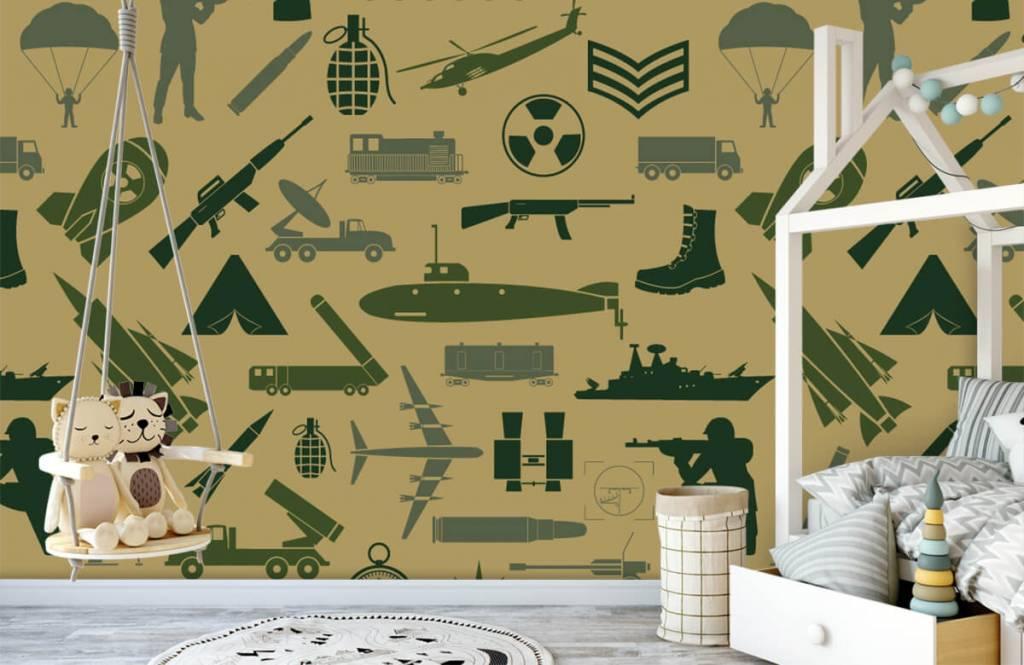 Other - Illustrations militaires - Chambre des enfants 3
