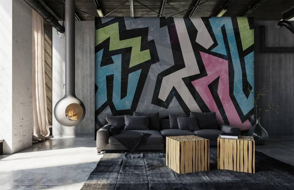 Graffiti - Graffiti moderne - Chambre d'adolescent 1