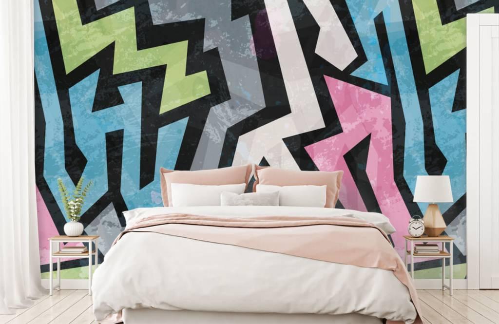 Graffiti - Graffiti moderne - Chambre d'adolescent 2