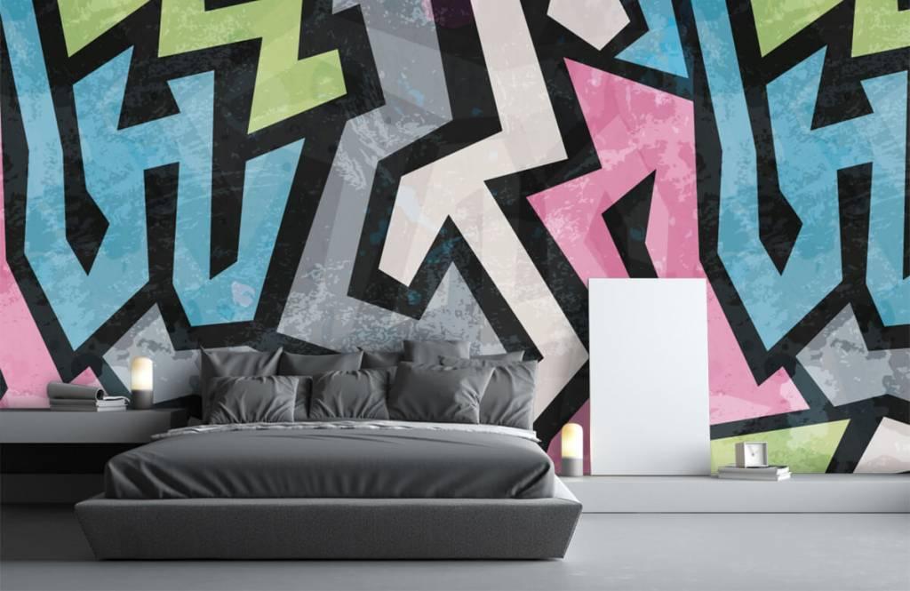 Graffiti - Graffiti moderne - Chambre d'adolescent 3