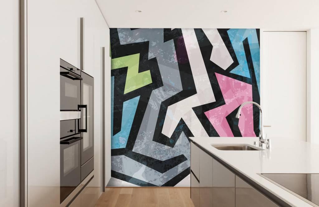 Graffiti - Graffiti moderne - Chambre d'adolescent 4