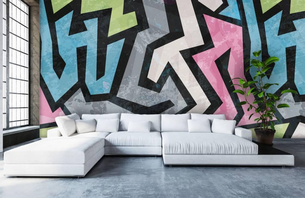 Graffiti - Graffiti moderne - Chambre d'adolescent 6