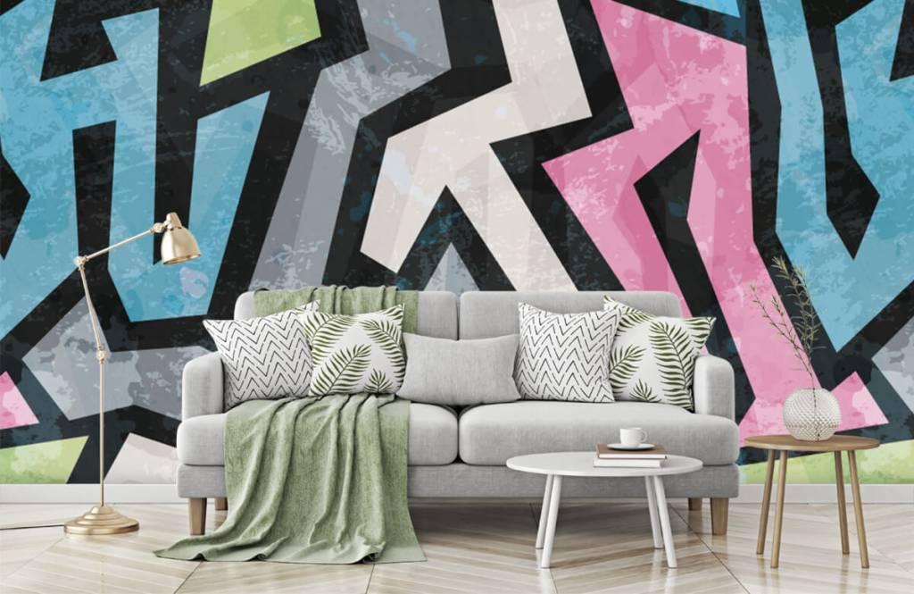 Graffiti - Graffiti moderne - Chambre d'adolescent 7