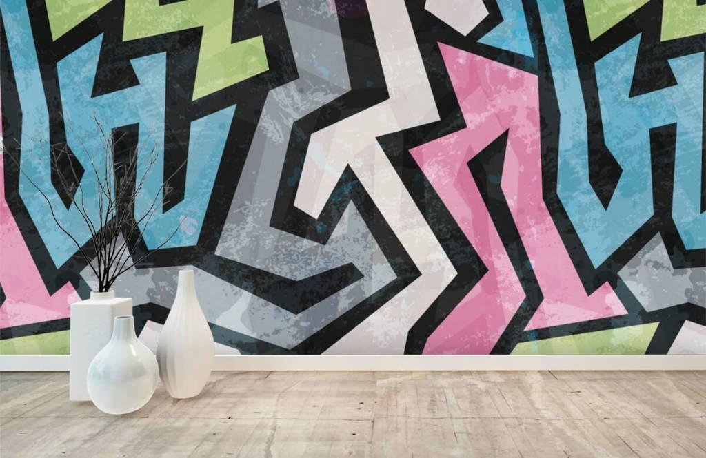 Graffiti - Graffiti moderne - Chambre d'adolescent 8
