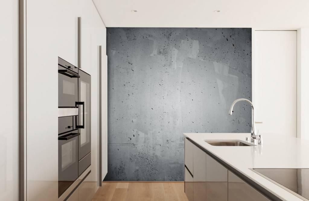 Papier peint aspect concret - Béton brut - Gérant 3
