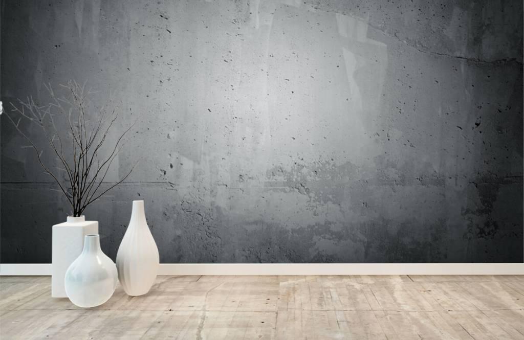 Papier peint aspect concret - Béton brut - Gérant 8