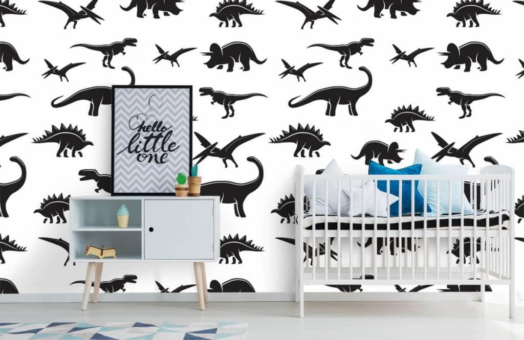 Dinosaurs - Dinosaure noir - Chambre des enfants 1