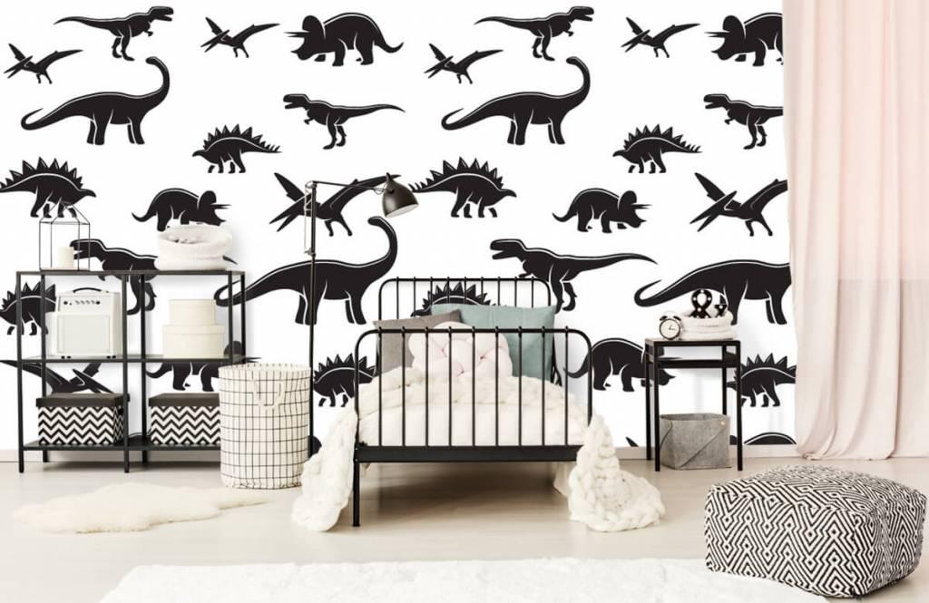 Dinosaurs - Dinosaure noir - Chambre des enfants 2