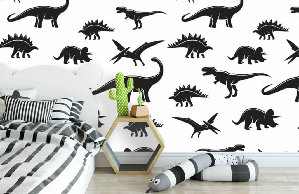 Dinosaurs - Dinosaure noir - Chambre des enfants 3