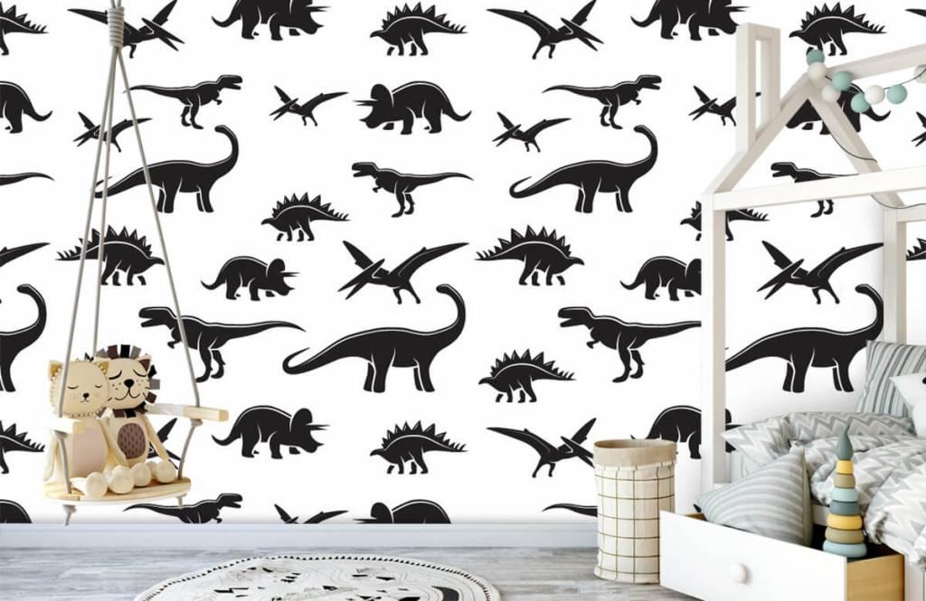 Dinosaurs - Dinosaure noir - Chambre des enfants 4