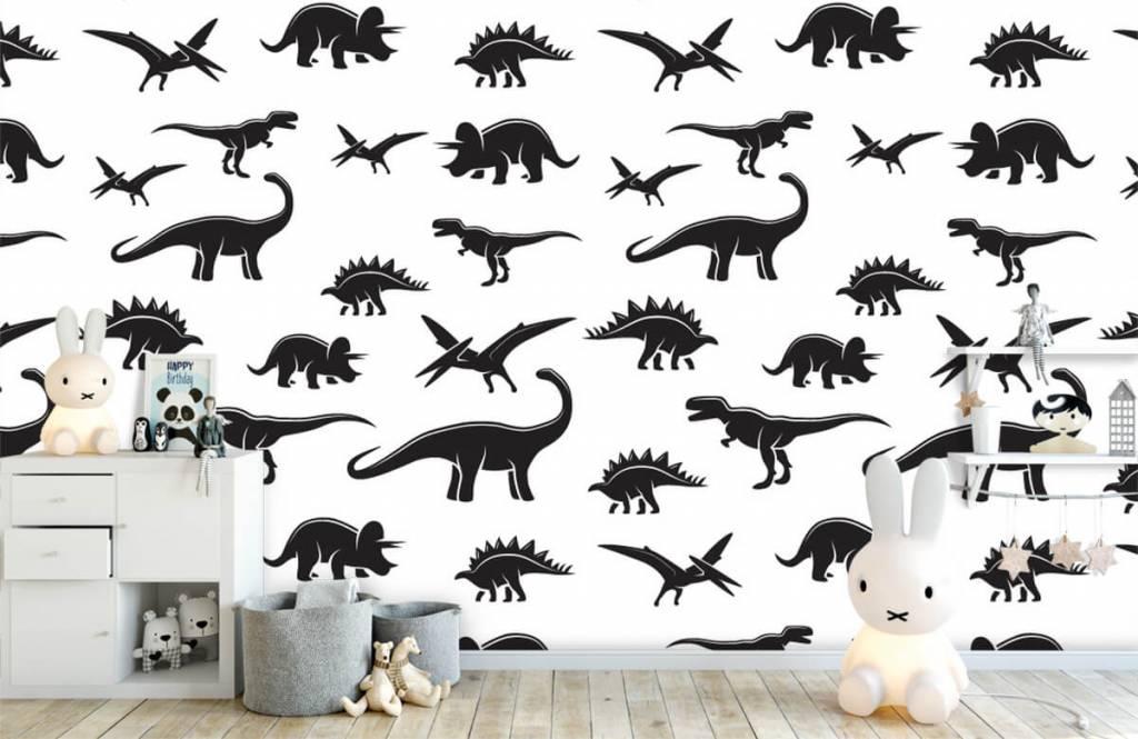 Dinosaurs - Dinosaure noir - Chambre des enfants 5