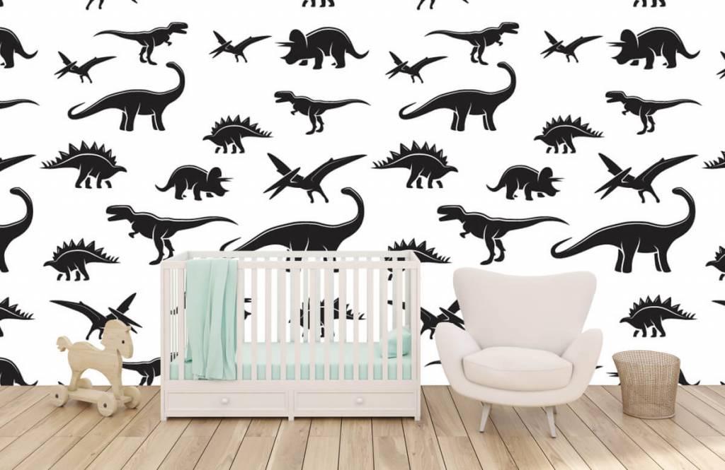 Dinosaurs - Dinosaure noir - Chambre des enfants 6