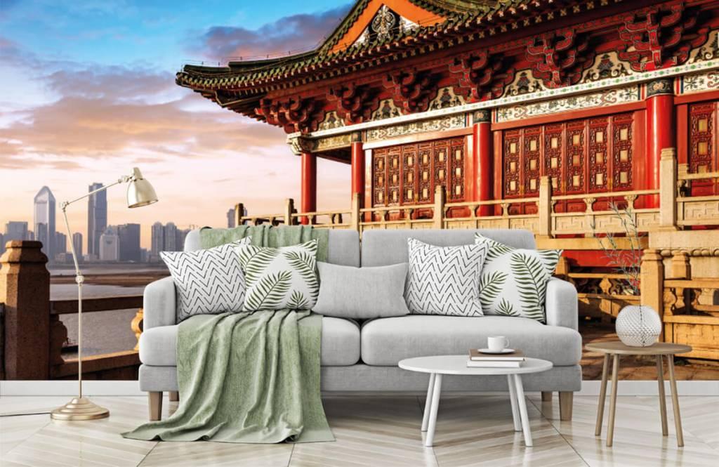 Papier peint Villes - Chine - Chambre à coucher 1