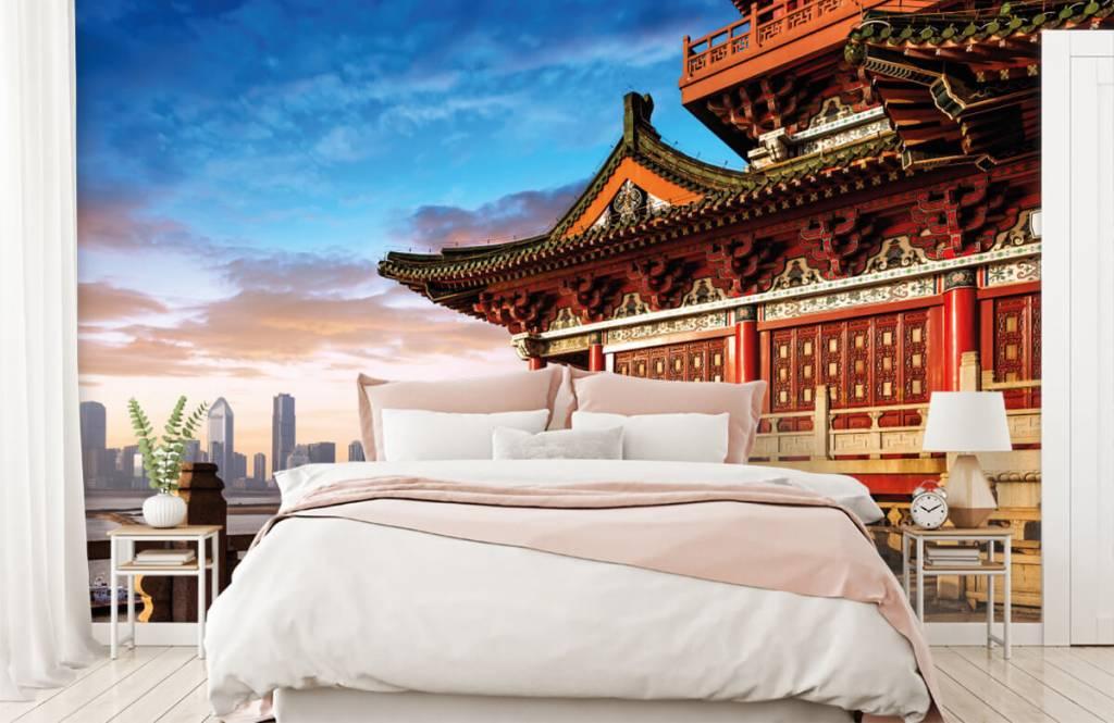 Papier peint Villes - Chine - Chambre à coucher 2