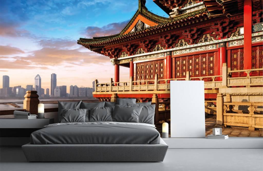 Papier peint Villes - Chine - Chambre à coucher 3