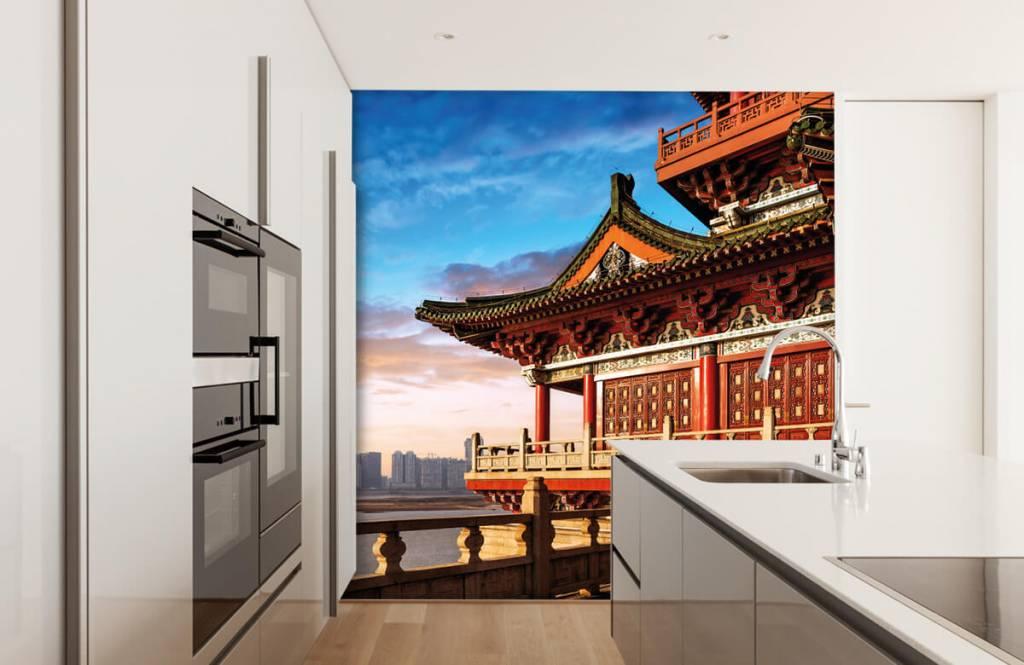 Papier peint Villes - Chine - Chambre à coucher 4