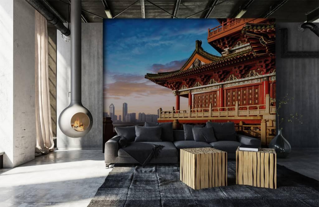 Papier peint Villes - Chine - Chambre à coucher 7
