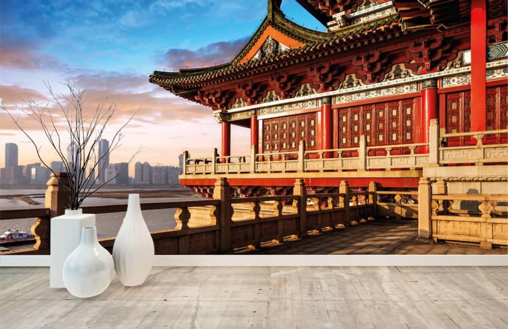 Papier peint Villes - Chine - Chambre à coucher 8