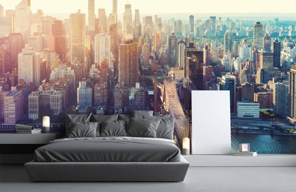 Papier peint rétro - ville de New York - Chambre d'adolescent 3