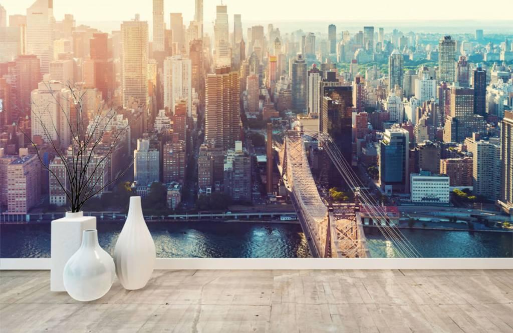 Papier peint rétro - ville de New York - Chambre d'adolescent 8